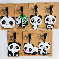 chinese panda pandas Travel Label ID Holder tags luggage tags Baggage Tag cool