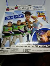 Colorforms Sticker Story Adventure  TOY STORY 4 Disney Pixar New. lot of 2