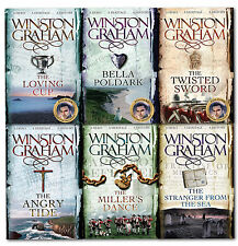 Winston Graham Poldark Series 6 Books Collection Set Pack 7 to 12 Bella Poldark