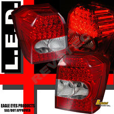 2006 2007 2008 Dodge Caliber SE SXT R/T SRT-4 Red LED Tail Lights Lamps RH & LH