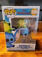 Funko POP Disney: Lilo & Stitch – Stitch With Frog FYE Exclusive 986  IN HAND