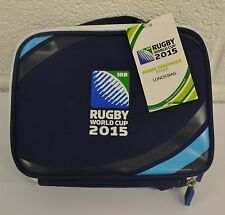 2015 Rugby World Cup Insulated Soft Zip Lunch Box Bag