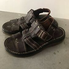 Vintage Dr. Martens Brown Leather Sandals 10
