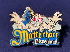 Disney Dlp Ap Annual Passholder Matterhorn (Working Lights) Snowman Pin 8699 Le