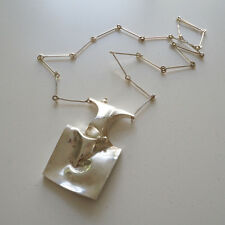 Lapponia vintage Weckstrom BARBARELLA sterling necklace 1973 Finland