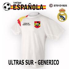 CAMISETAS TECNICAS:  REAL MADRID ULTRAS SUR - SIEMPRE FIELES / GENERICO M2