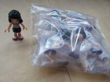 PARTY PACK OF 20X NEW LEGO FRIENDS EMMA MINIFIGURES FRND011 DARK BLUE SKIRT