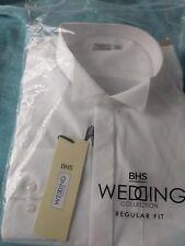 Mens Wedding Shirt Regular Fit BHS Wedding Collection 18 in