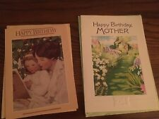 Nine Greeting Cards for Mom: Birthday, Valentines Day, Thanksgiving & Christmas