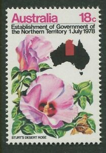 ESTABLISHMENT OF THE NORTHERN TERRITORY GOVERNMENT 1978 - MNH (T396-RR)