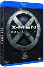 X-MEN SAGA COMPLETA BLU RAY XMEN X MEN (SIN ABRIR) 6 PELICULAS
