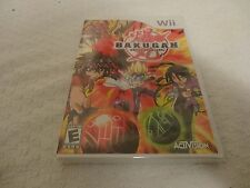 Bakugan Battle Brawlers Video Game  (Wii, 2009) BRAND NEW SEALED