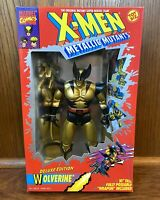 "Wolverine Vintage X-Men Metallic Mutants 10"" Deluxe Figure New NIB Toybiz 1994"