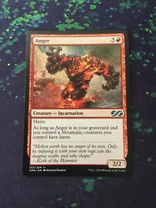 MTG, Anger. Ultimate Masters Uncommon. NM