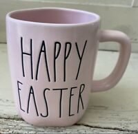 "Rae Dunn 2021 Pink Easter Mug ""HAPPY EASTER"" NEW! LOW Ship! 🌸🐣🐇"