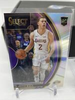 LONZO BALL 2017 PANINI SELECT ROOKIE SILVER  CONCOURSE PRIZM RC CARD! #28 Invest