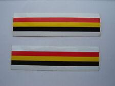 BELGIAN FLAG DECALS / STICKERS