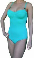 EX M & S LADIES SWIMWEAR UNDERWIRED SWIMSUIT CHOOSE CUP SIZE MINT SWIMSUITS