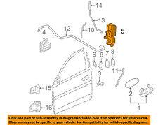 Pontiac GM OEM 04-08 Grand Prix Front Door-Door Lock Kit 25955875