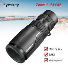 Eyeskey 8-24x42 Zoom Optics Monocular Binoculars FMC Fog Proof for Bird Watching