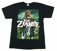 Rob Zombie Warrior Hell Tour 2011 T Shirt New Official Signed Autographed
