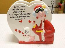 Funny Hallmark Maxine Valentine Planter You Gotta Love Her!