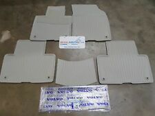 Genuine Volvo XC90 5 PIECE ALL WEATHER FLOOR MATS OE OEM 39830541