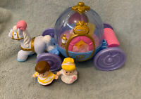 Fisher Price Little People - Princess Cinderella Musical Carriage With 2 Figures