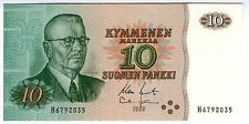 **   FINLANDE     10  markka   1980   p-111a    UNC   **