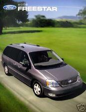 2006 Ford Freestar minivan new vehicle brochure