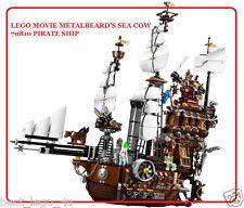 LEGO MOVIE METALBEARD'S SEA COW 70810 PIRATE SHIP New Sealed Box