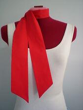 Rock n Roll/Rockabilly Neck Scarf/ Hair Tie. Plain Red.