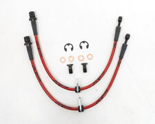 Agency Power AP-FRS-405 - Front Braided Brake Lines FOR Scion FRS Subaru BRZ