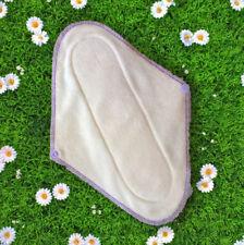 Serviette hygiénique lavable coton bio (modèle maxi)
