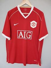 Vtg Manchester United Nike 2006 Home Football Shirt Trikot Jersey Sz XL* (173)
