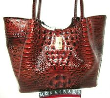 Brahmin Medium Mallory Pecan Melbourne Handbag Tote Leather R17 151 00004