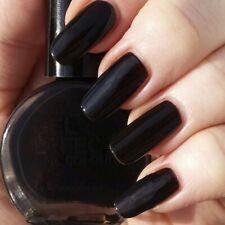 Stargazer Nail Polish evil black GEL EFFECT Varnish Glossy Long Lasting goth emo