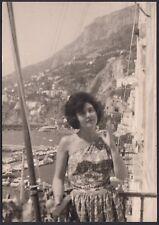 YZ1004 Amalfi - Scorcio panoramico - Fotografia d'epoca - 1962 vintage photo