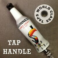 GUINNESS BEER TAP HANDLE Toucan 1930s art bottle DRAUGHT STOUT Green RECYCLED UP