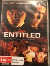 The Entitled (DVD, 2012) Perfect Plan, Perfect Victims, The Con Is On- FREE Post
