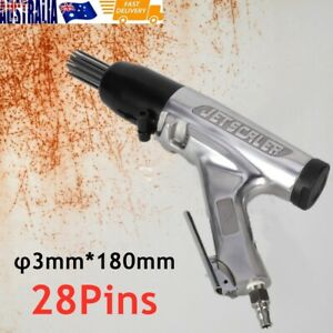 28Pin Needle Scaler Pneumatic Air Gun Chisel Tools Paint Rust Removal Scraper