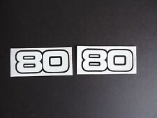 1980 1981 1982 1983 YAMAHA YZ 80 SIDE PANEL DECALS VINTAGE MOTOCROSS AHRMA