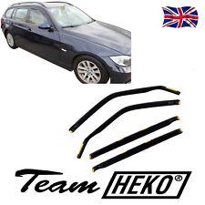 SUN SHADE + Wind Deflectors BMW 3 E91 Touring / Estate 2005-2013 HEKO Tinted