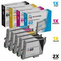 LD Epson Reman C88 CX4200 CX4800 CX7800 5pk T060120 T060220 T060320 T0604
