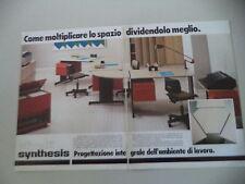 advertising Pubblicità 1981 OLIVETTI SYNTHESIS
