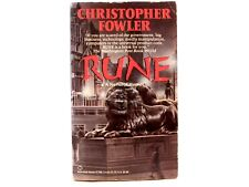 GOOD! Rune by Christopher Fowler. 1992 Paperback