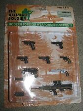 1/6 Ultimate Soldier Modern Foreign Weapons Set 3, Colt, Enfield, Beretta, HK,