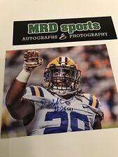 Darrel Williams LSU Tigers hand signed autographed 8x10 football photo