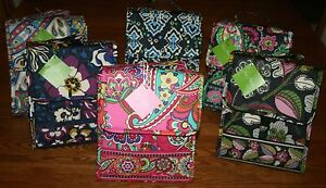 Vera Bradley LUNCH SACK Insulated Bag tote bunch case box laminated cooler NEW