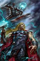 Thor #8 Lucio Parrillo Virgin Variant 2020 Cates Silver Surfer Knull NM